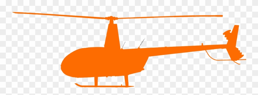 Robinson r png download. Helicopter clipart gray
