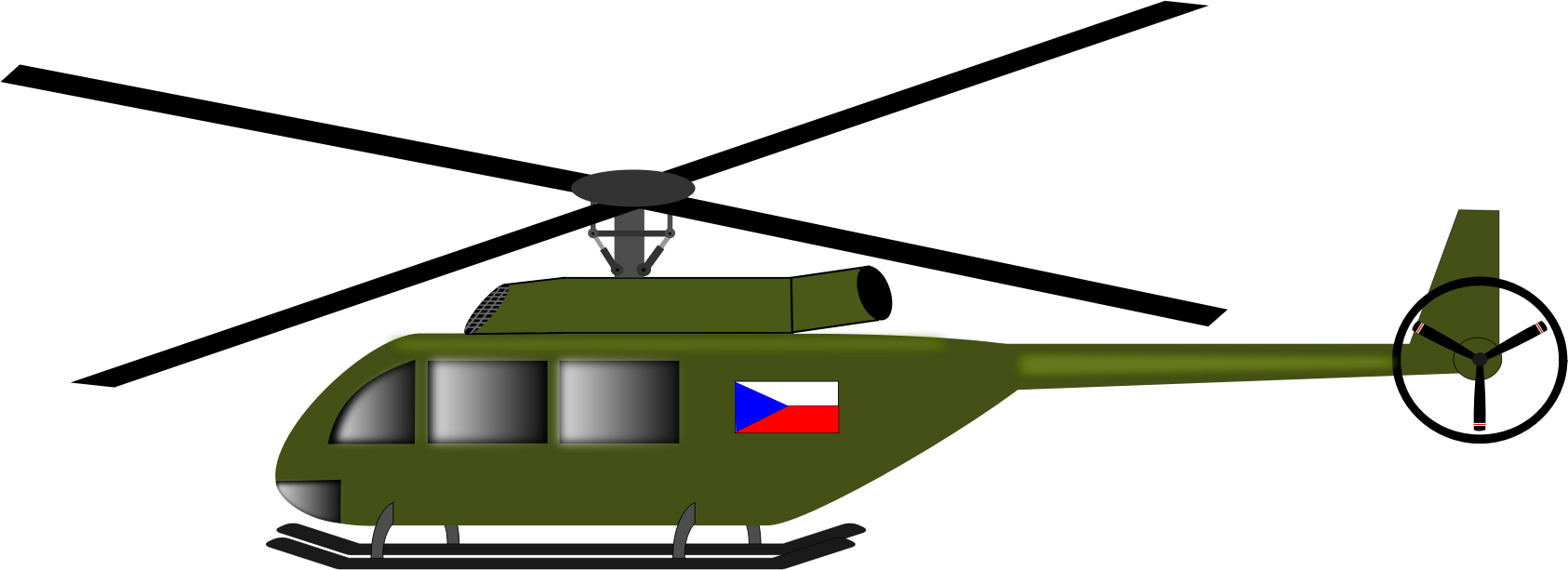 helicopter clipart hellicopter