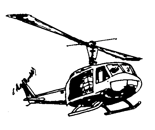 Helicopter clipart huey helicopter. Silhouette free download best