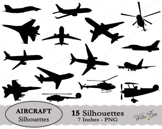 Aircraft svg airplane silhouette. Helicopter clipart jet plane