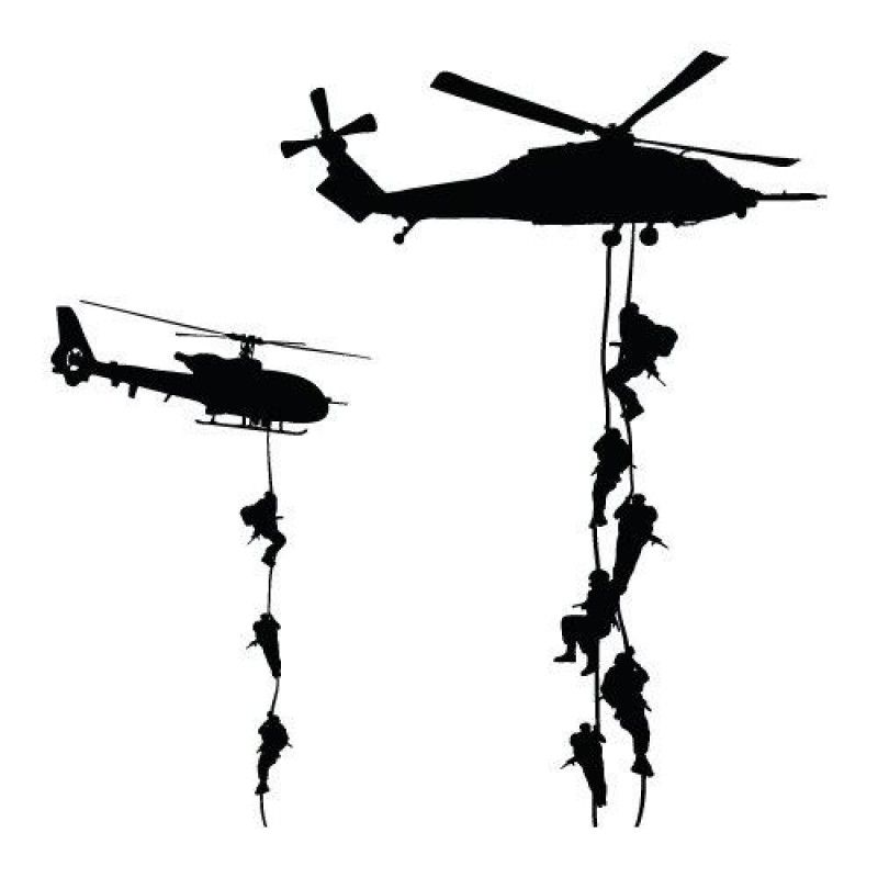 Air assault tattoo ideas. Helicopter clipart military parachute