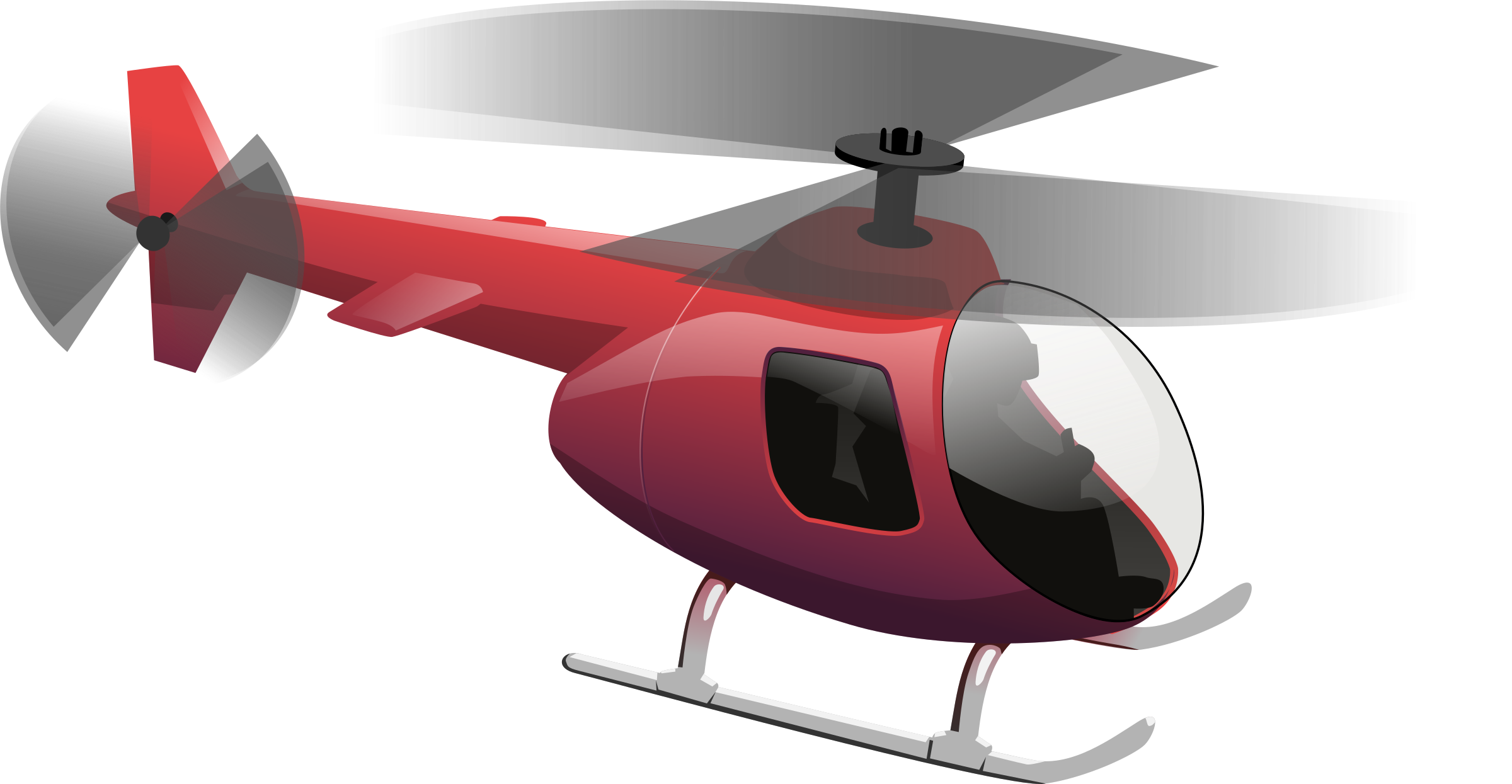 Group transparent pencil and. Helicopter clipart orange