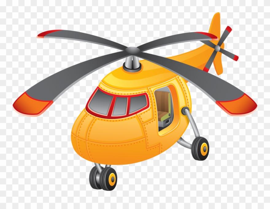 Helicopter clipart orange. Transparent background