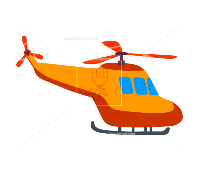 Helicopter clipart orange. Free vectors illustrations graphics
