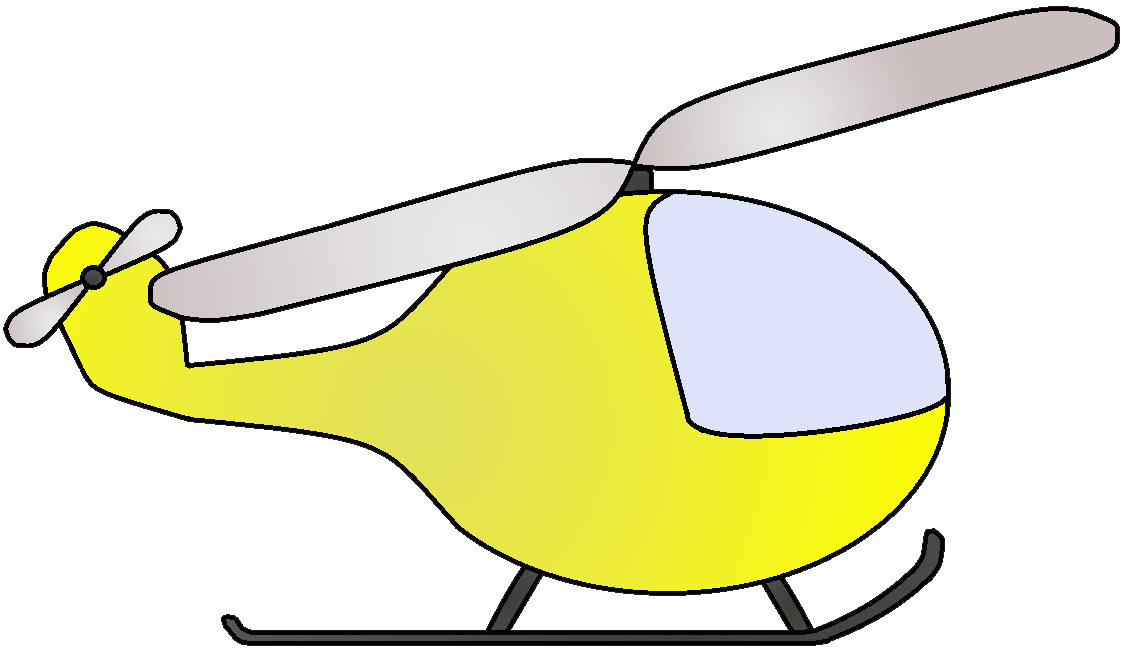 Helicopter clipart orange. Train clip art yellow