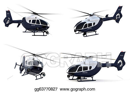 Stock illustration gg . Helicopter clipart police helicopter