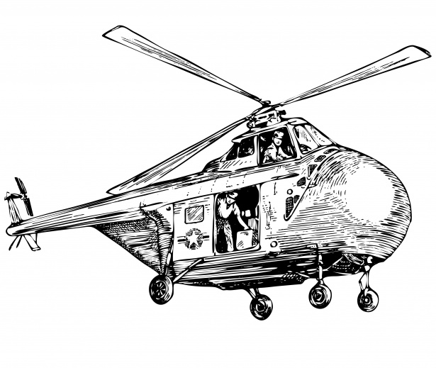 Helicopter clipart public. Illustration free stock photo