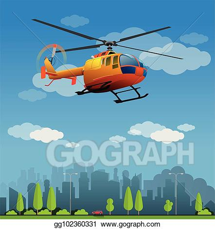 Helicopter clipart rescue helicopter. Clip art vector stock