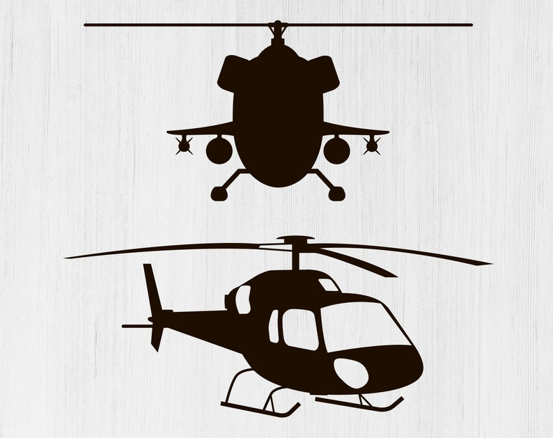 Helicopter clipart svg. File png image aircraft