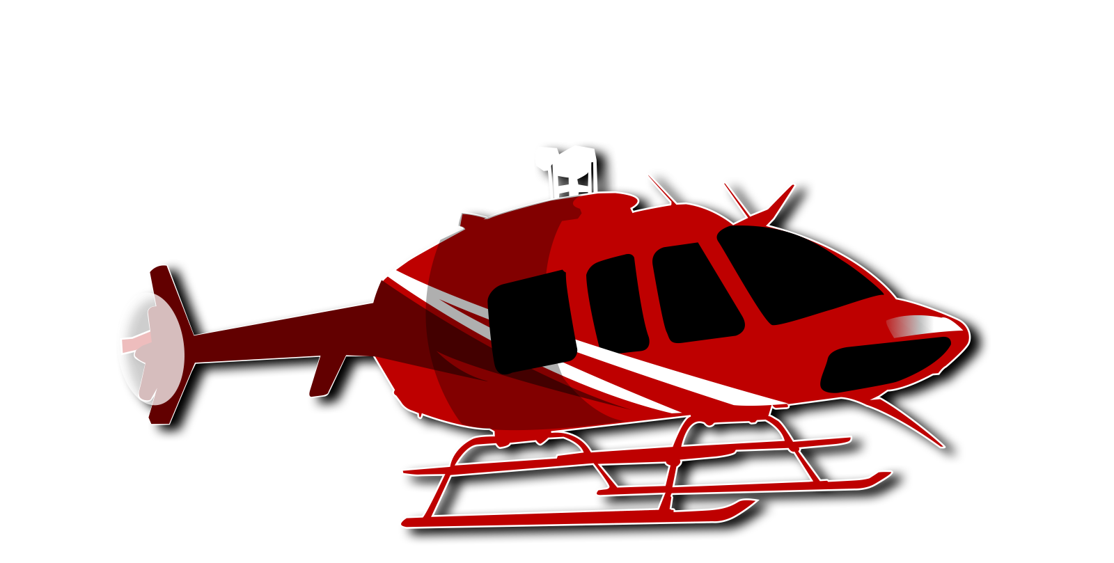 Booking image is not. Helicopter clipart top view