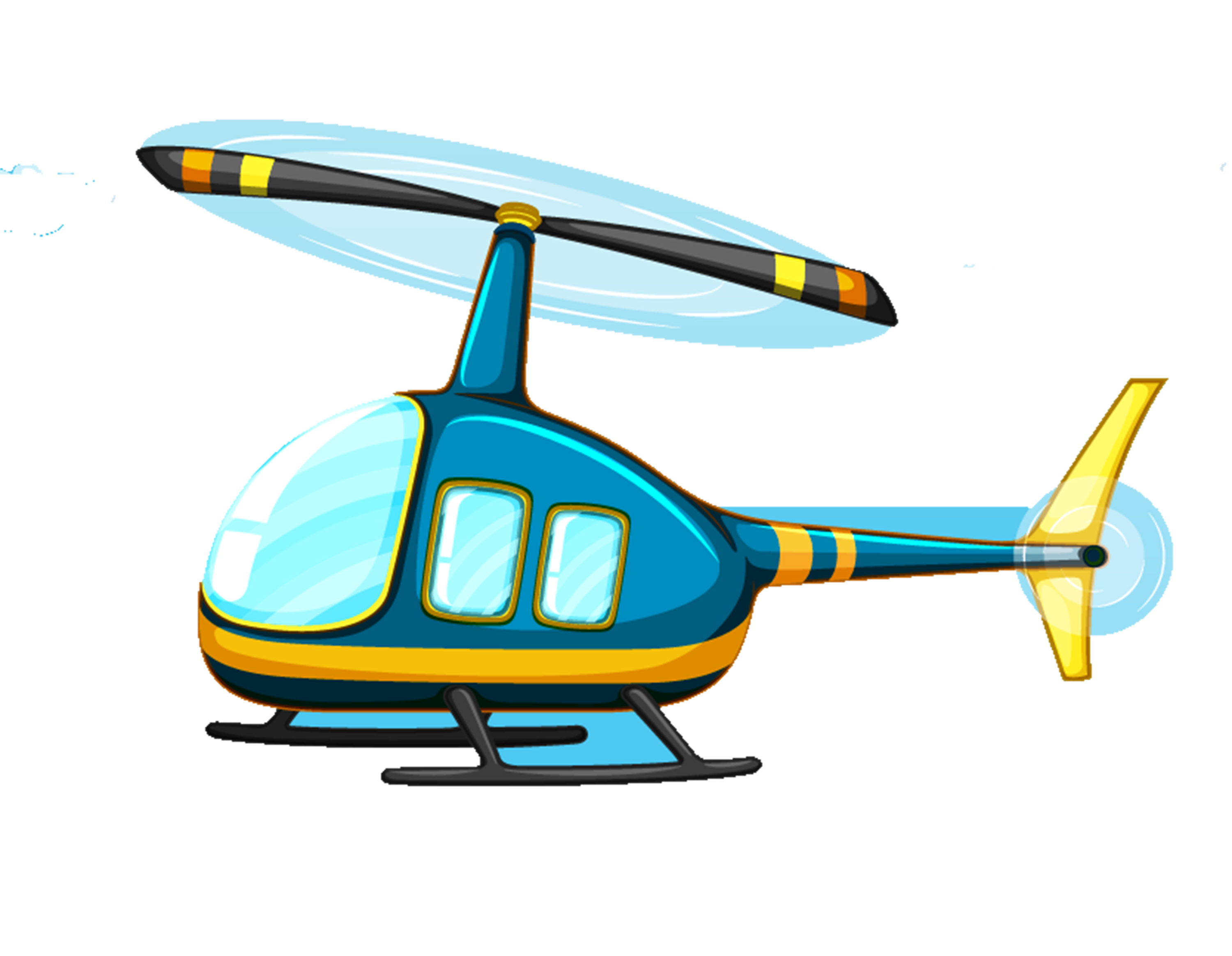 Flight royalty free illustration. Helicopter clipart yellow helicopter