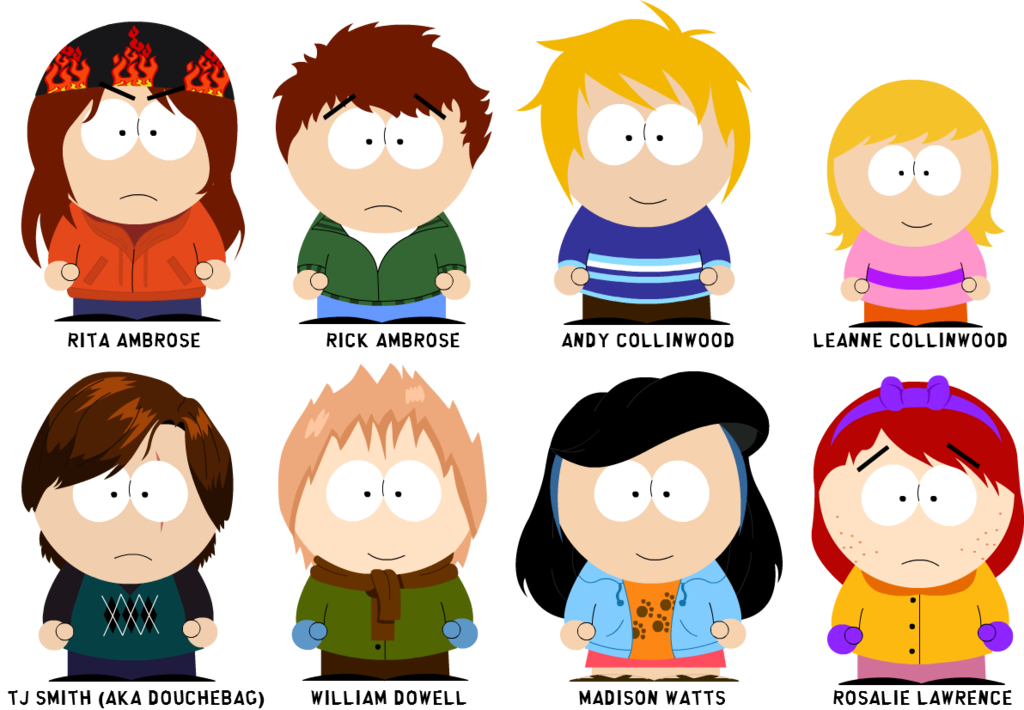 South park lovechild challenge. Hello clipart adolescent