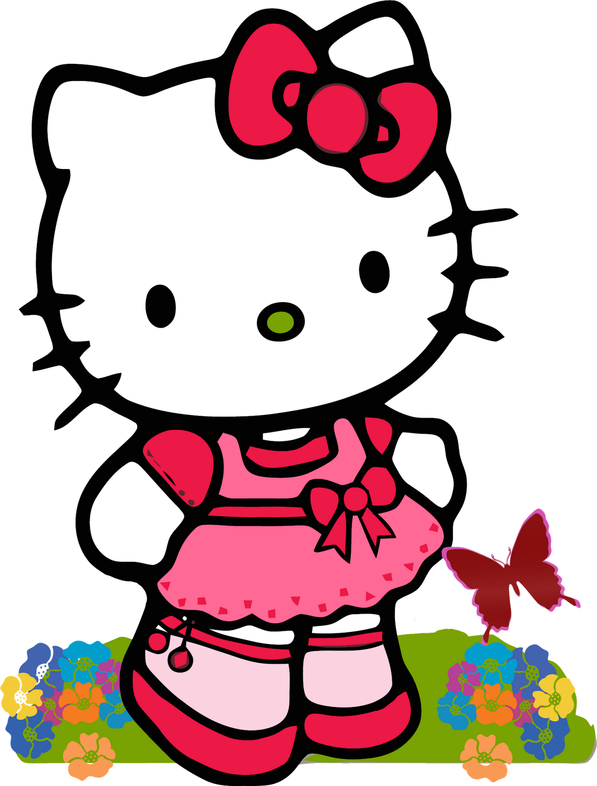 Kitty http saqibsomal com. Wednesday clipart hello