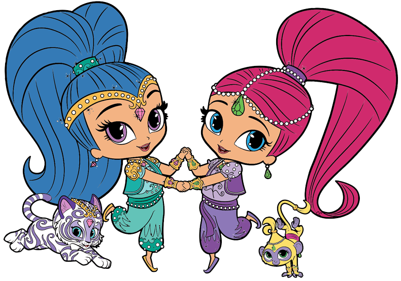 Shimmer and shine png images. Clipart cartoon clip art