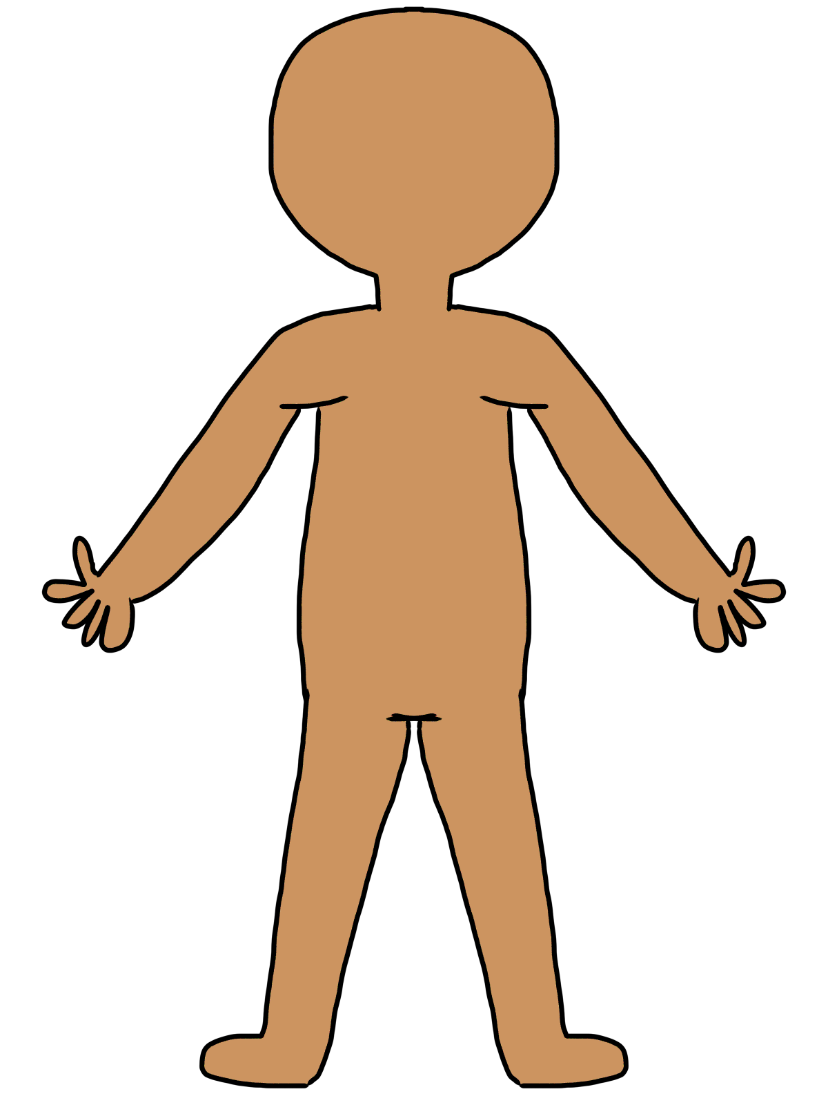 collection of body. Human clipart human being