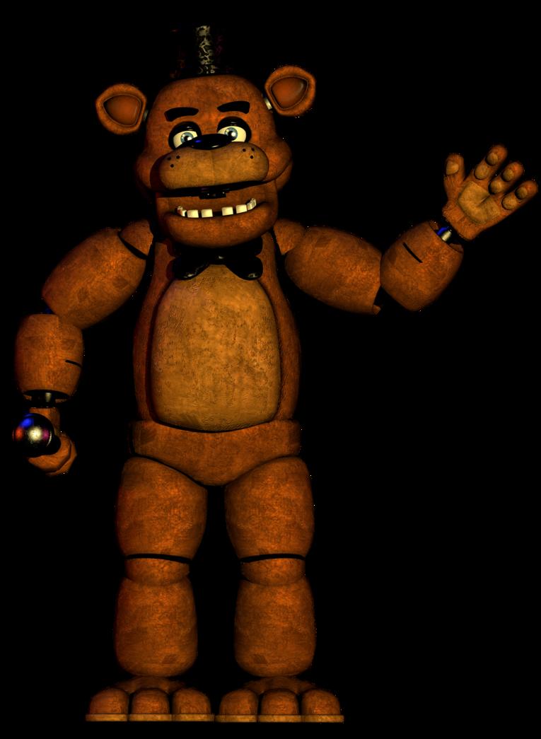 Freddy fazbear by popi. Skin clipart full body