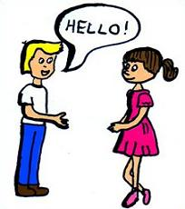 Hello clipart greetings. Free