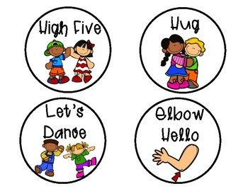Morning greeting signs free. Hello clipart greetings