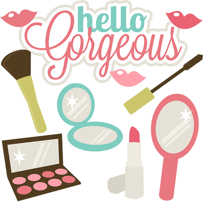 Lipstick clipart pdf. Hello gorgeous svg files