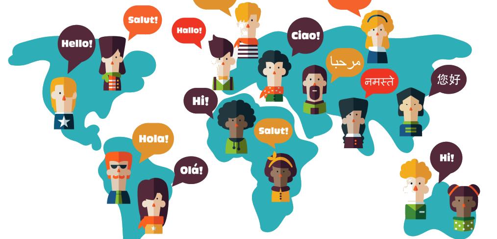 Hello clipart multilingual. Website unicornsolutions increase in