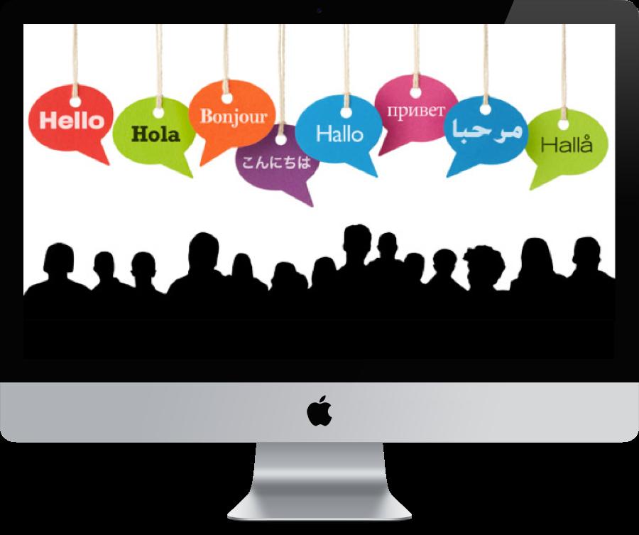 Hello clipart multilingual. Capital interpreters we can