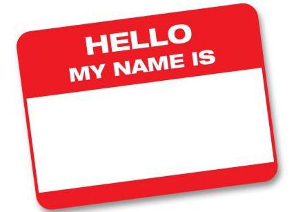 Name clipart name badge. Free nametag cliparts download