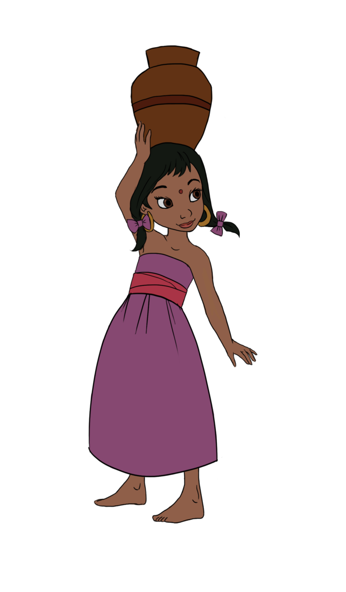 Hello clipart outgoing girl. Shanti the jungle book