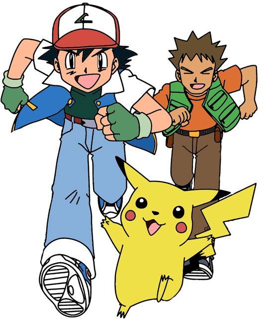 Clip art cartoon brock. Pokemon clipart version