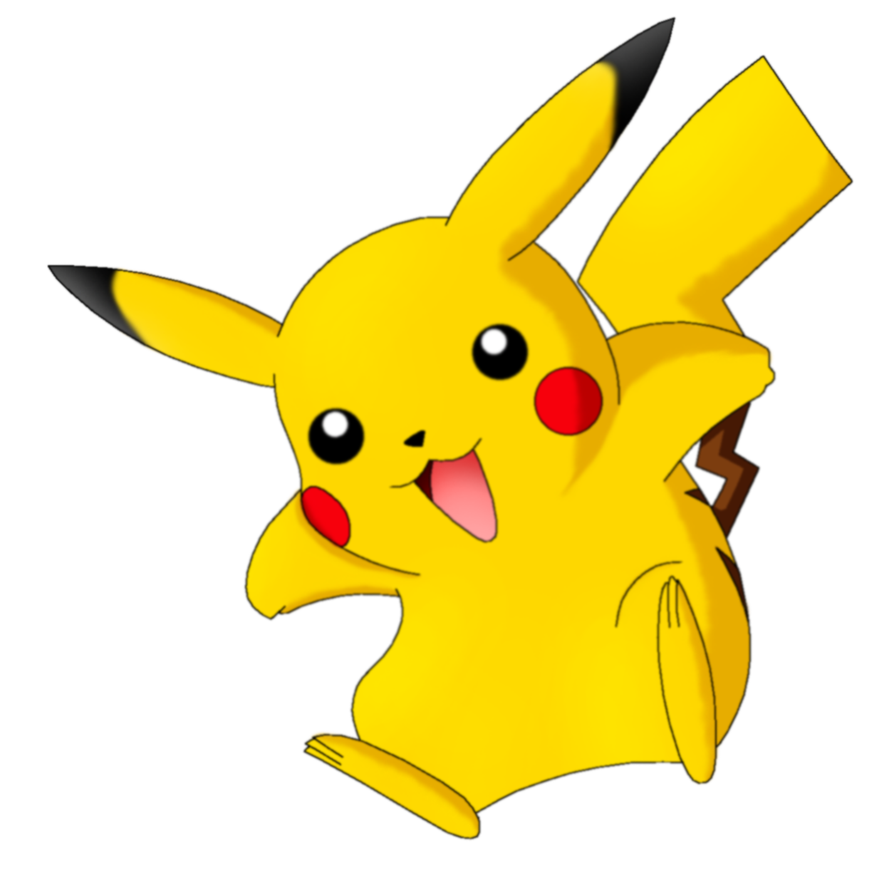 pokeball clipart cute pikachu