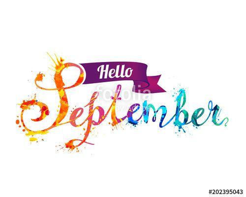 Hello clipart september. Clip art free ideas