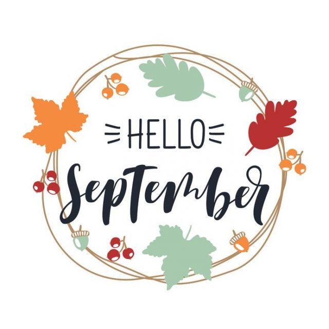 Hello clipart september. And autumn veranda pensacola