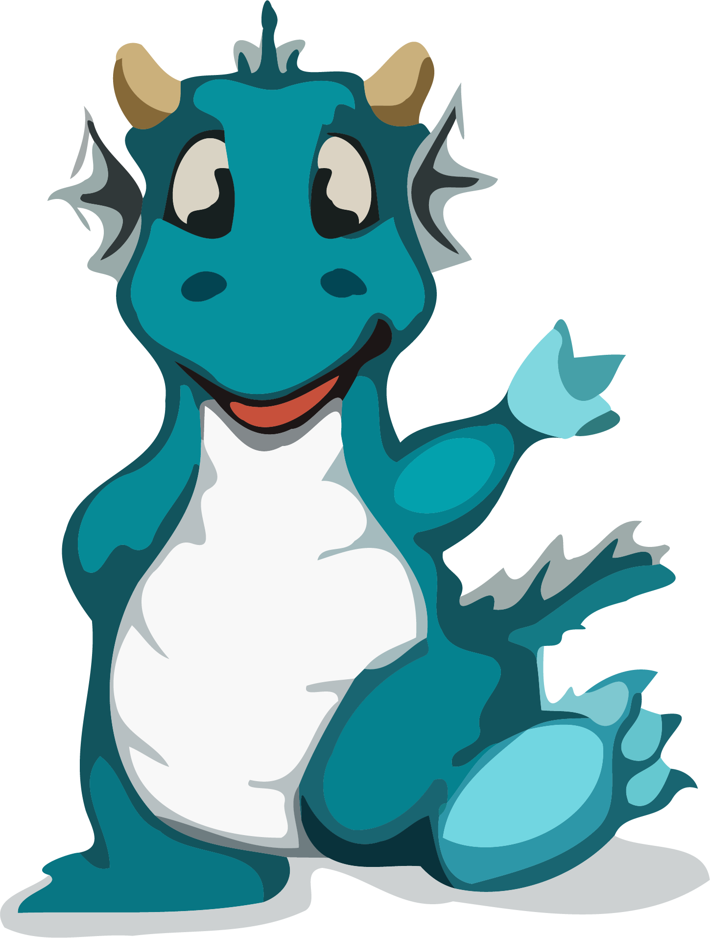 Hello png clipartly comclipartly. Robot clipart dragon