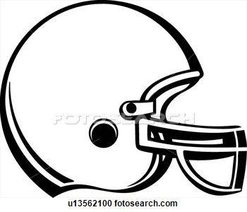 Helmet clipart. Football pinterest helmets illustrations