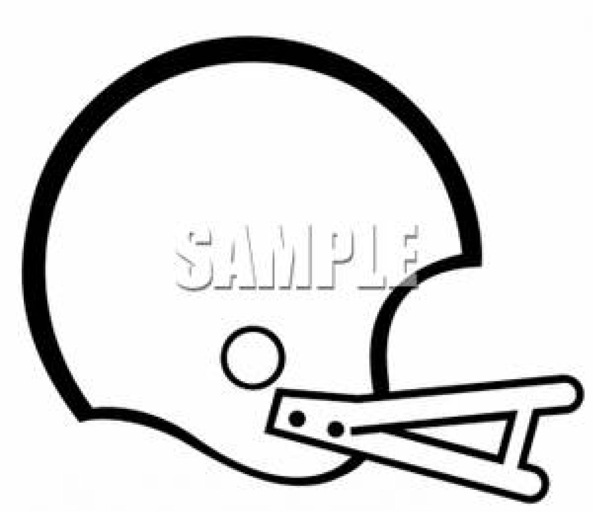 Football clip art images. Helmet clipart