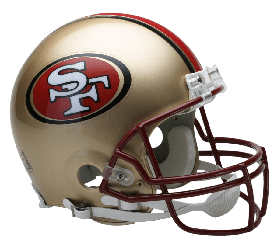 San francisco ers transparent. 49ers helmet png