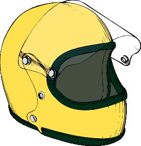 Helmet clipart. Crash clip art at
