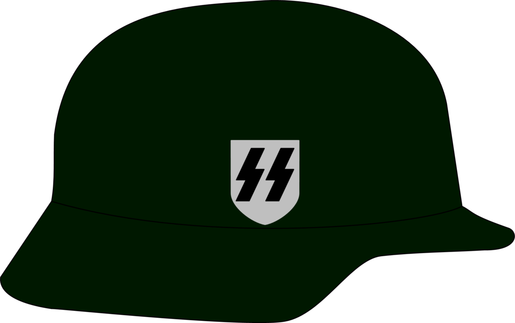 Waffen ss by jmk. Helmet clipart army
