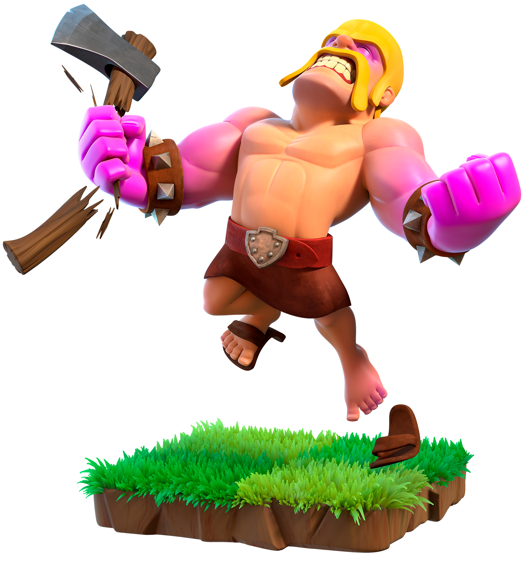 Helmet clipart barbarian. Raged clash of clans