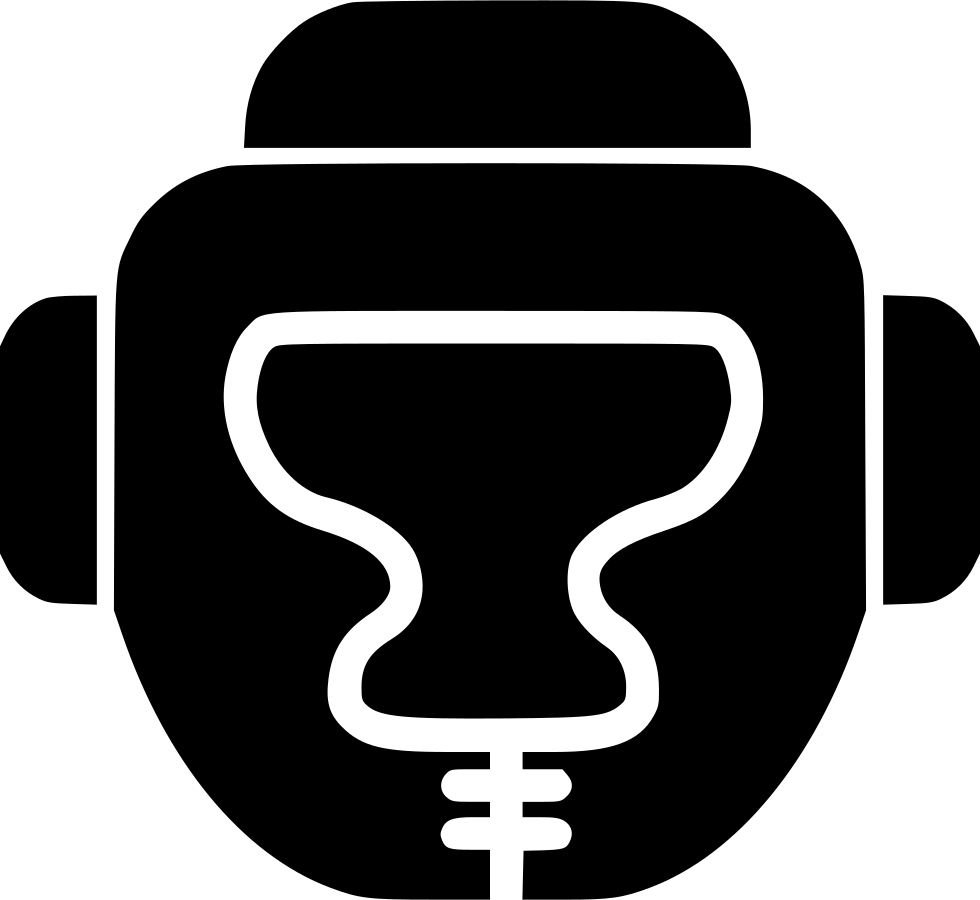 Helmet clipart boxing. Svg png icon free