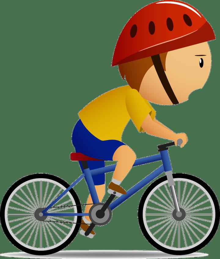 Helmet clipart cartoon bike. Cycle carsjp com kid