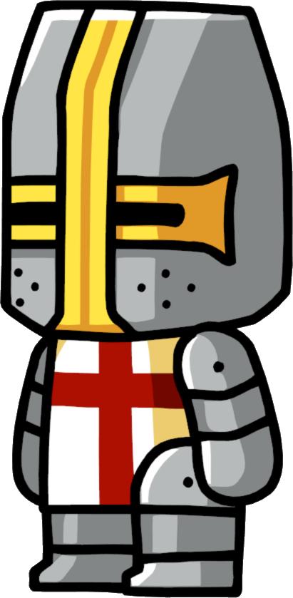 Scribblenauts wiki fandom powered. Warrior clipart crusader