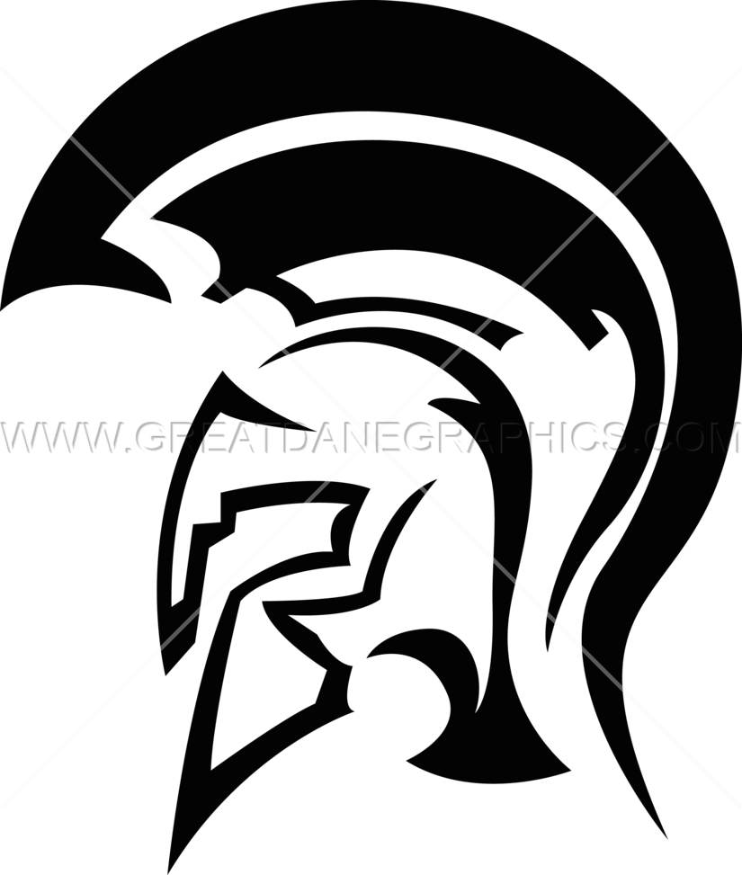Spartan helmet png. Production ready artwork for