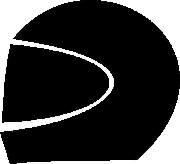 Motorcycle clipart silhouette. Helmet at getdrawings com