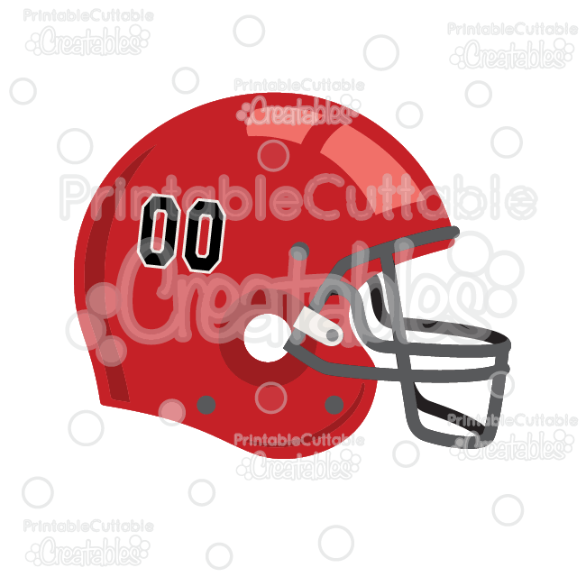 Football svg cut . Helmet clipart file