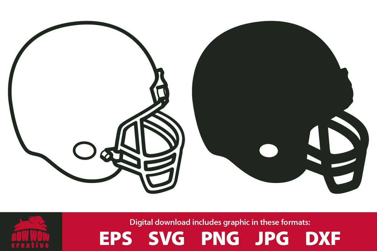 Helmet clipart file. Football svg eps jpg