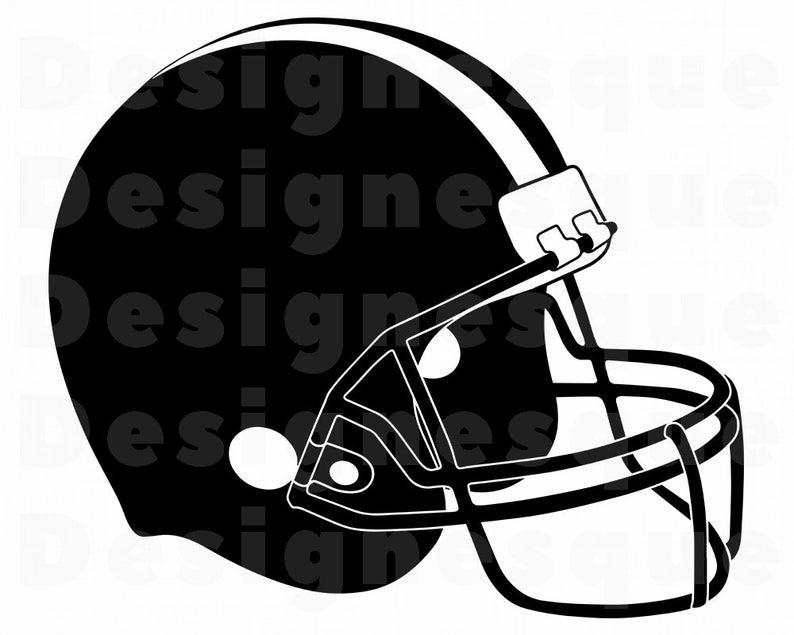 Svg files for cricut. Helmet clipart football helmet