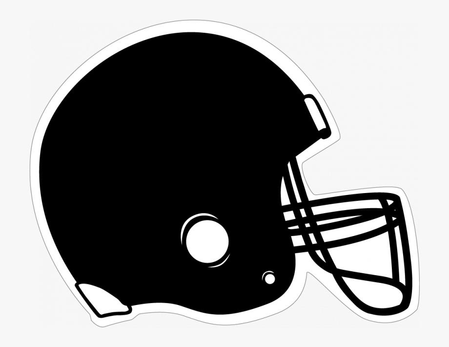Helmet clipart football helmet. Black free cliparts on