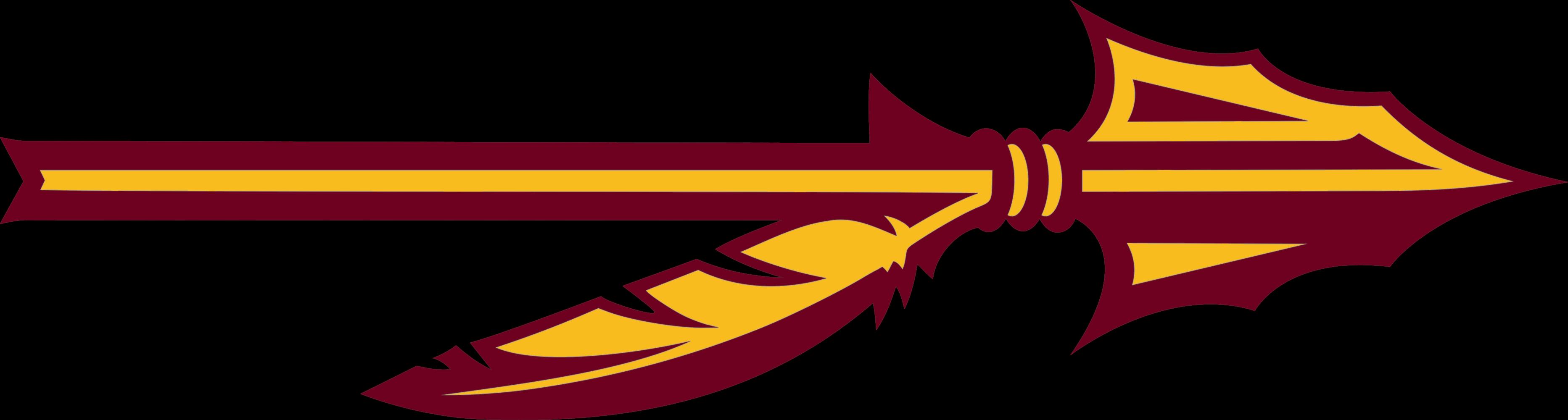 Helmet clipart fsu. Seminole s new logo