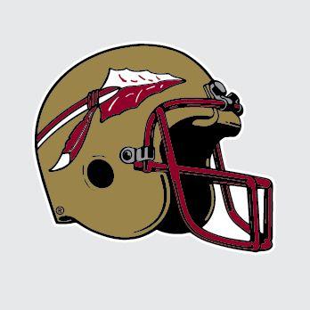 Florida state seminoles football. Helmet clipart fsu