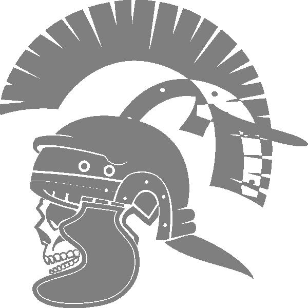 Roman skull clip art. Helmet clipart gladiator
